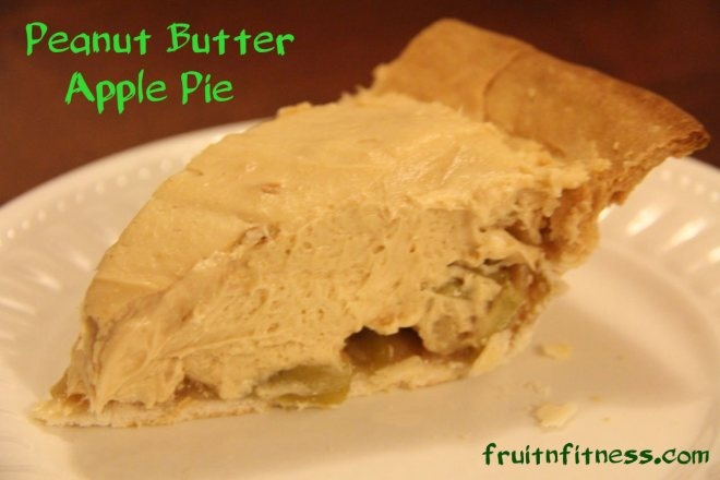 easy peanut butter and apple pie | Recipes - Pie | Pinterest