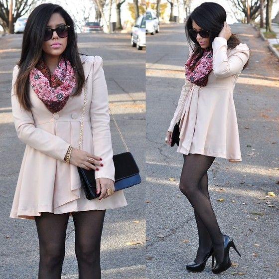 coat h scarf mandee shoes aldo bag