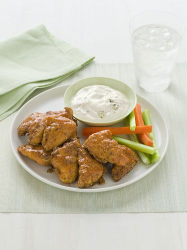 Boneless Buffalo Chicken - We liked these without the added coating of ...