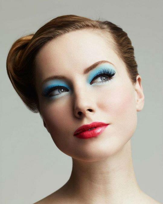 Colourful Bridal Makeup