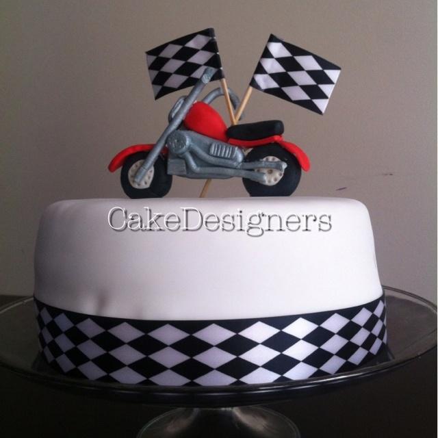 Birthday Cake Ideas Motorcycle : Motorcycle cake Birthday ideas Pinterest