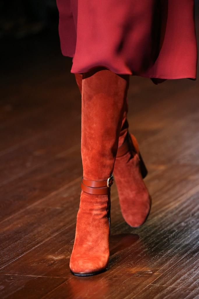stunning boots @ Gucci Spring 2015