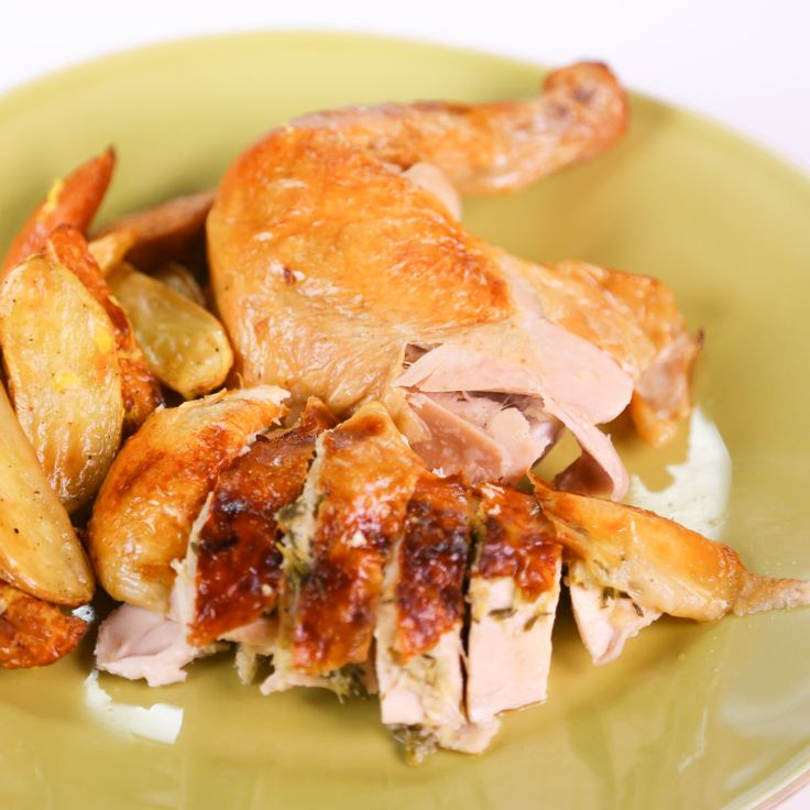 Sunday Roast Chicken by Carla Hall | Cooking | Pinterest
