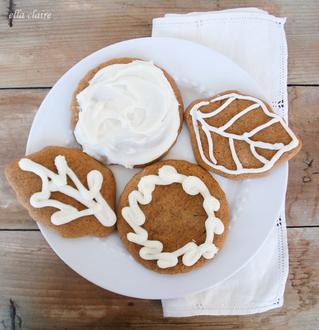 DELICIOUS Spiced Pumpkin Gingerbread Cookies