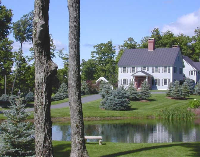 Pin by luxury properties for sale in new england on for Stonegate farmhouse