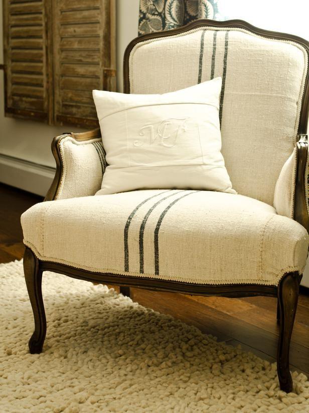 DIY Easy Reupholstered Chair