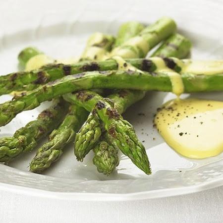 Pan Grilled Asparagus With Lemon Shallot Vinaigrette Recipes ...