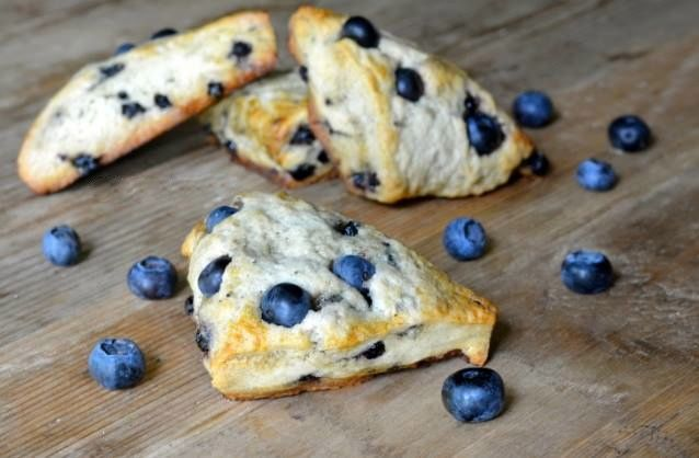 Gluten-Free Blueberry Scones Recipe With Whole Grains Recipes ...