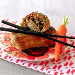 Puff Pastry Chicken Egg Rolls | Recipe: Candy & Hors d'Oeuvres ...