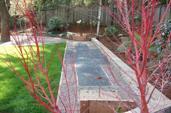 horseshoe court design backyard horseshoe pits