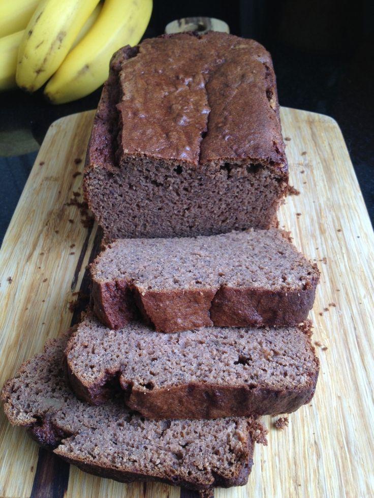 Banana spice Coconut flour bread   Recipes - Bread   Pinterest