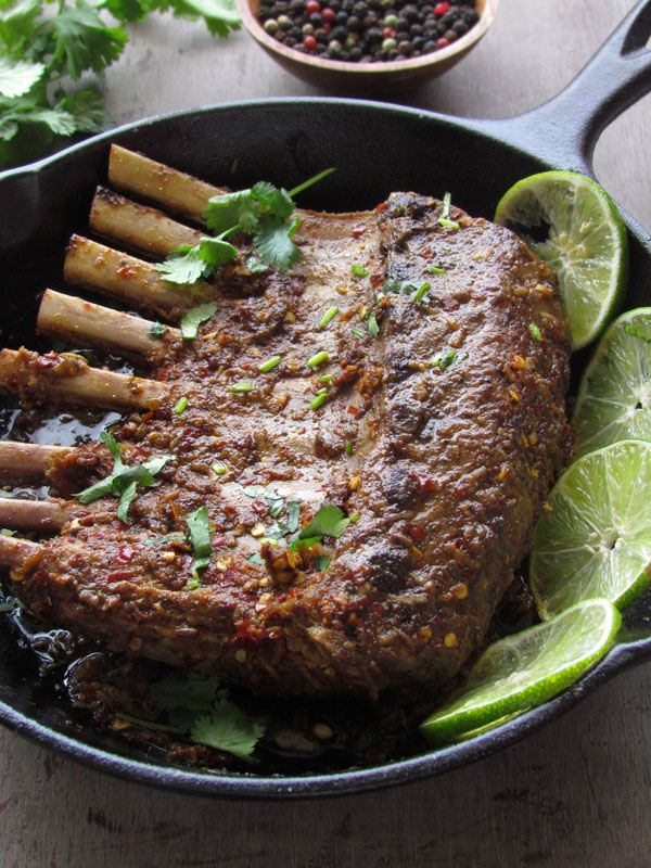 ... spiced lamb chops recipes yummly spiced lamb chops and smashed peas