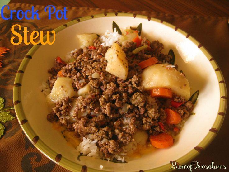 Crock Pot Beef Stew | Favorite Recipes | Pinterest