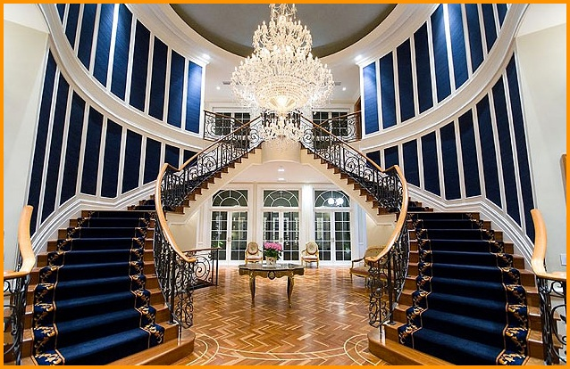 Grand double staircaseGrand Double Staircase