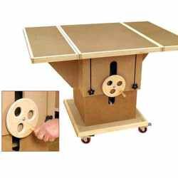 28-149864 - Adjustable 3-in-1 Assembly Table Woodworking Plan DIY