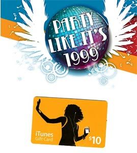 $10 itunes gift card  Free $10 iTunes gift