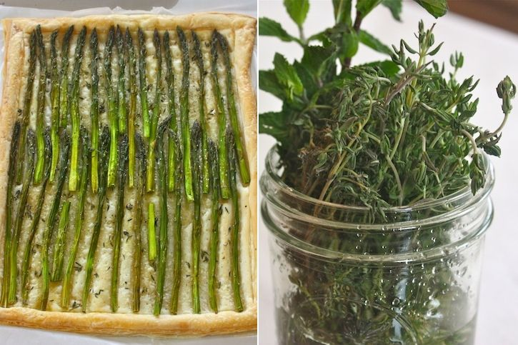 Asparagus Tart | Recipes to Tinker with to Make Gluten-Free and Dairy ...