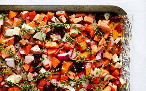 root vegetables roasted root vegetables with marcona almonds roasted ...