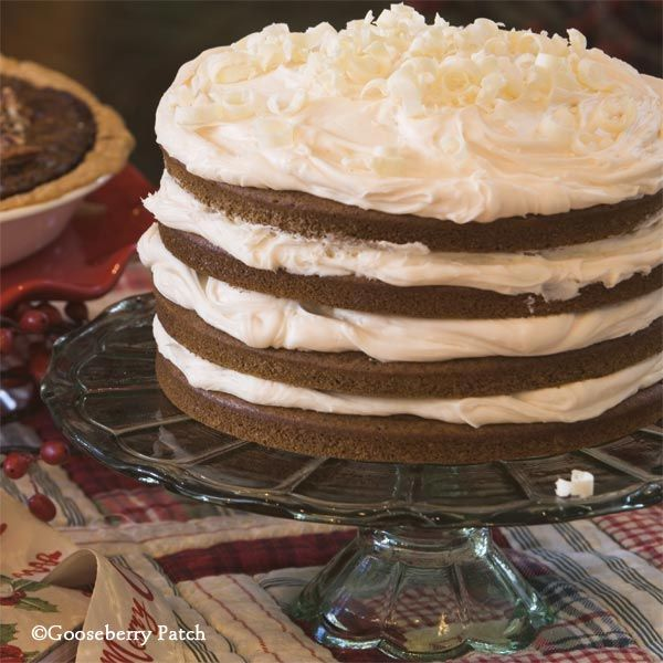 Patch Recipes: Old-Fashioned Gingerbread Torte - layers of gingerbread ...
