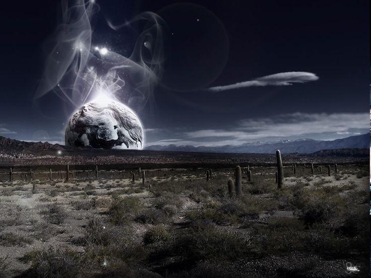 Fantasy landscape space - photo#15