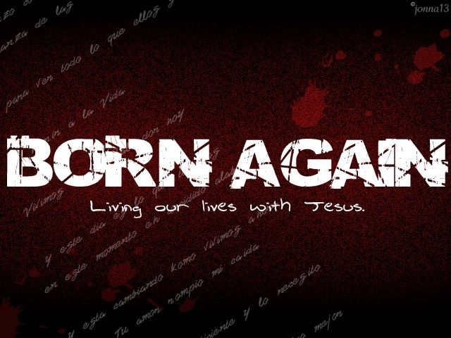 how to become a born again christian