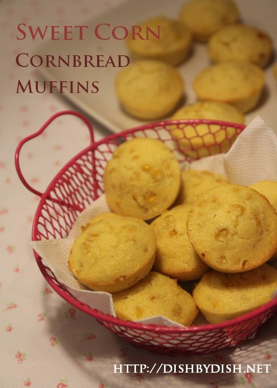 Sweet Corn Cornbread Muffins | Find Fabulous Foods From Foodies | Pin ...