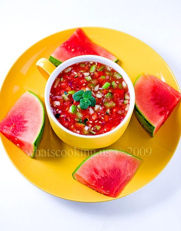 WATERMELON GAZPACHO | FOODS I LOVE..... | Pinterest