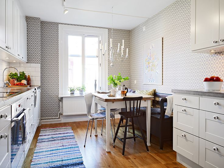 Small eat in kitchen for the home pinterest for Small eat in kitchen