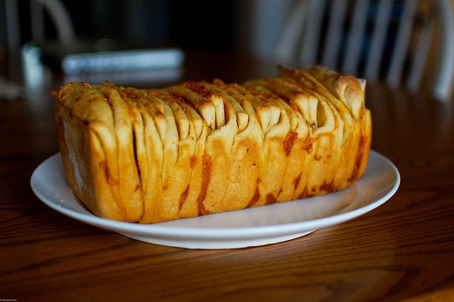 cheddar, beer, and mustard pull apart bread...must keep in mind for ...