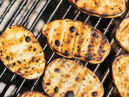 Grilled Salt and Vinegar Potatoes | Serious Eats : Recipes http://www ...