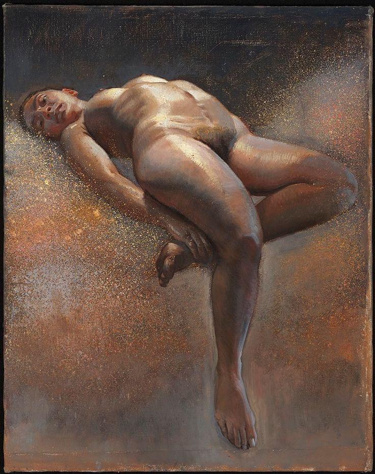 Erotic gallery oil painting
