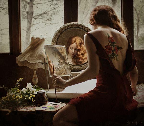 + Fotografia: Interessante como fotomontagens de Chiara Fersini.