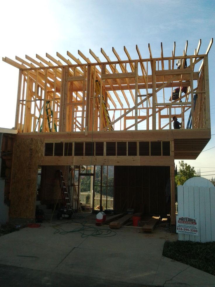 Pin by preferred home builders on 2nd story addition for Garage remodel