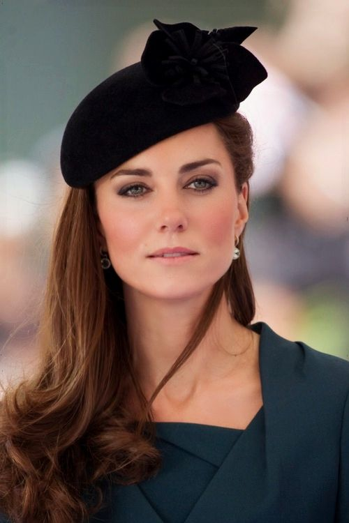 Duchess of Cambridge. Seriously, we need to bring hats over here.