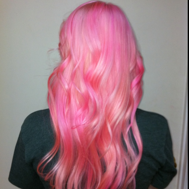 cotton candy pink hair cotton candy pink hair pinterest