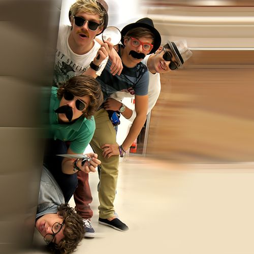 One Direction...being One Direction.