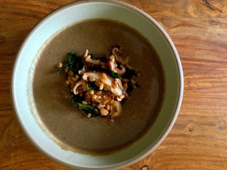 Anthony Bourdain's Mushroom Soup | ThriveLiving | Pinterest