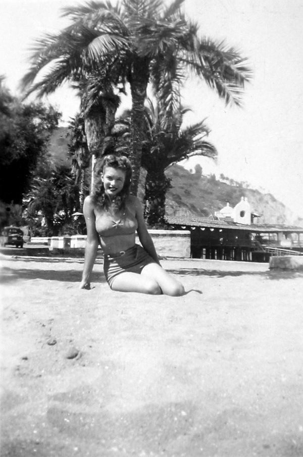 ... Jeane at this time) lived there with her first husband James Dougherty