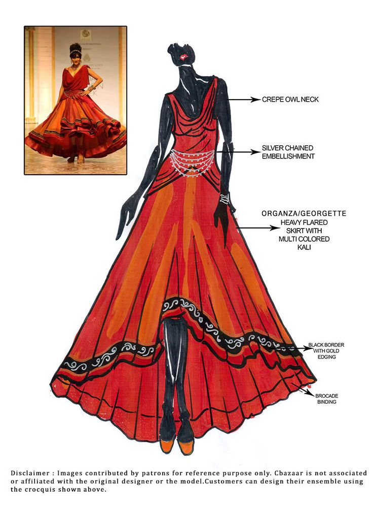91 best Indian wear sketches!  images on Pinterest