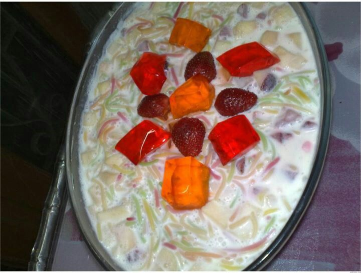 Neat e shireen recipe image here, check it out