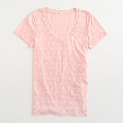This super cute J. Crew tee could totally be a DIY with a bleach pen!