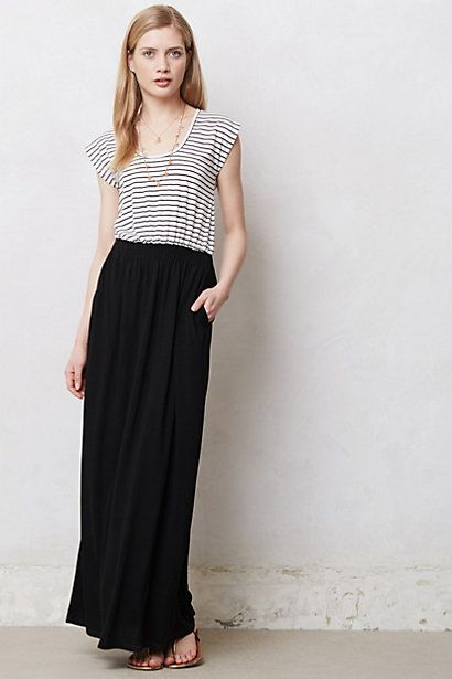 Construct Maxi Dress #anthropologie