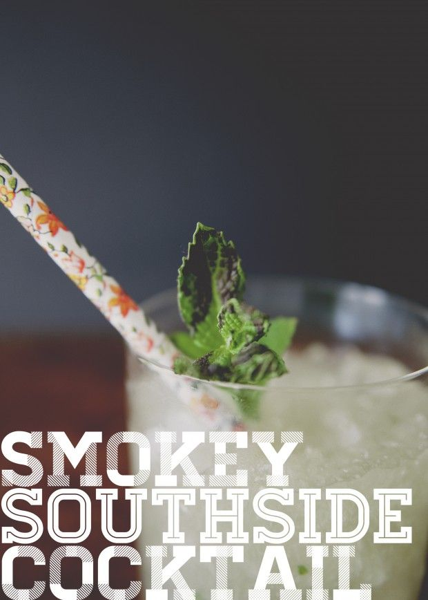 smokey south side cocktail | Drank | Pinterest