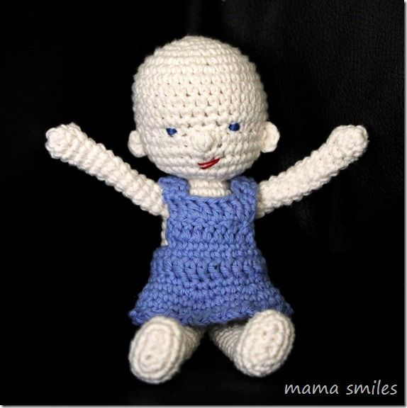 Crochet Doll Pattern Cute : Amigurumi and Waldorf Inspired Baby Doll Crochet Pattern