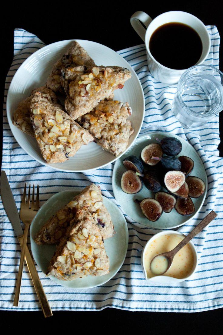 Fig Orange Almond Scone | to taste | Pinterest