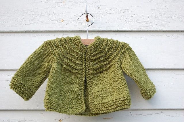 5 hour baby sweater pattern-free Tricot Pinterest