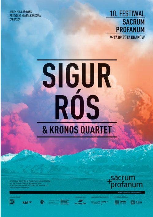 Sigur Rós & Kronos Quartet Poster