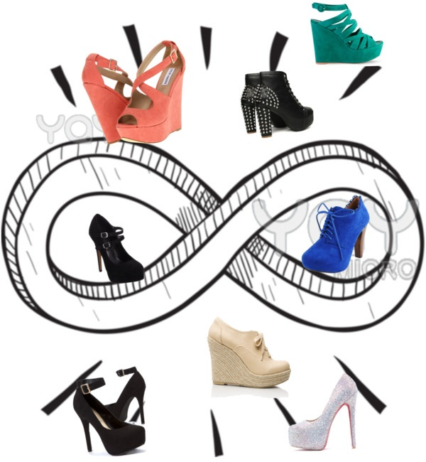 Forever shoes by alainavallet liked on Polyvore