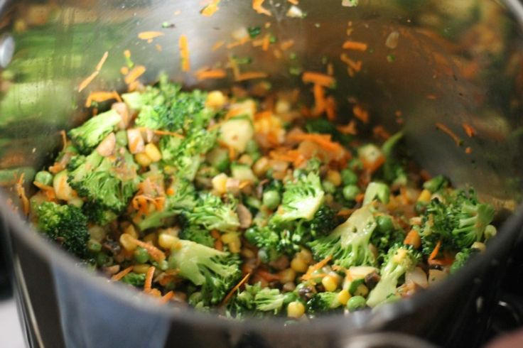 Quinoa 'Fried Rice' | Recipe