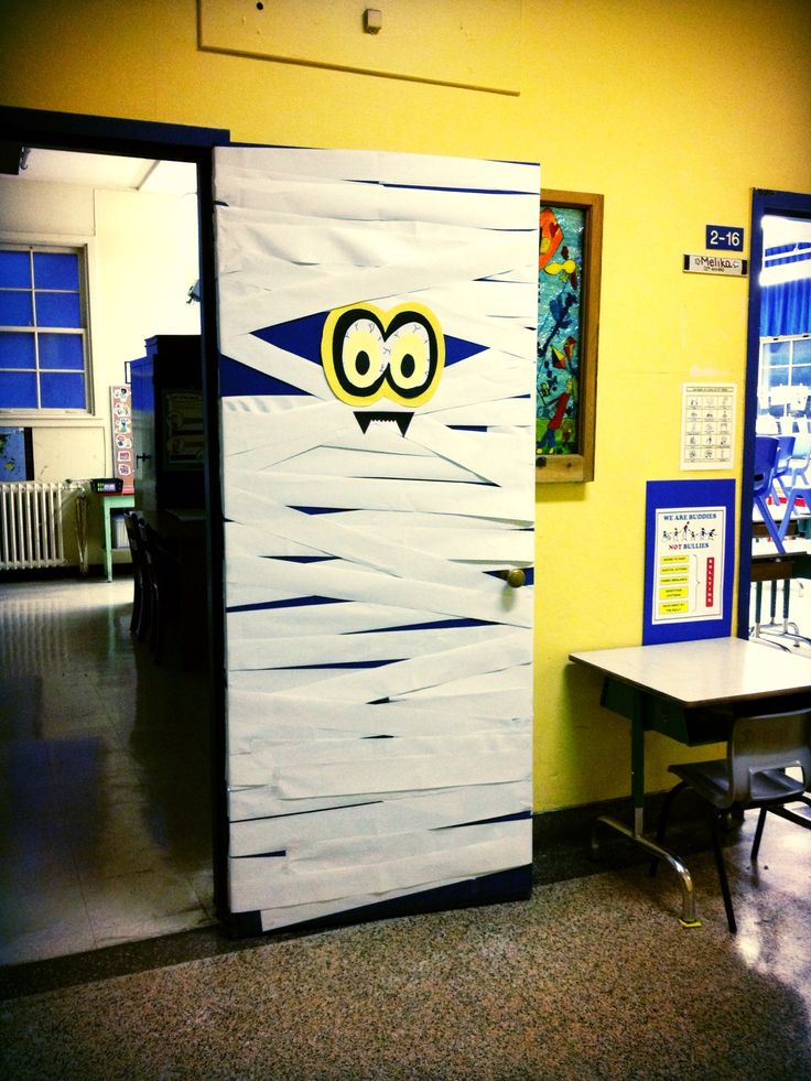 porte de classe halloween la classe de mme melika